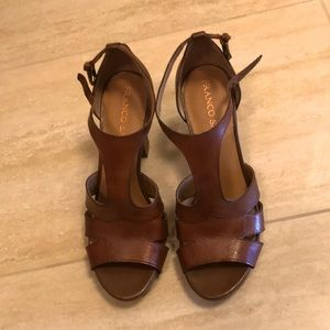 Franco Sarto real leather sandals